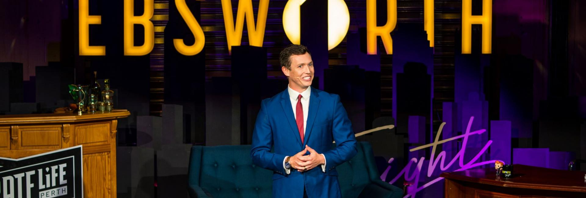 Ebsworth Tonight: Perth's Biggest Live Talk Show is Worth Staying up for